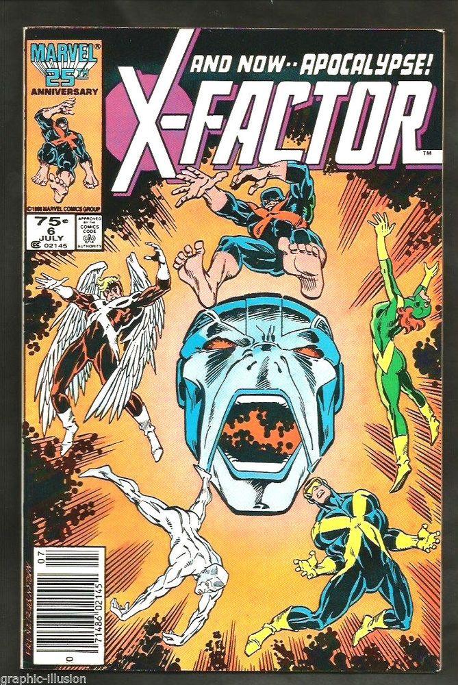 X-Factor #6 Apocalypse Marvel Comics 1st print