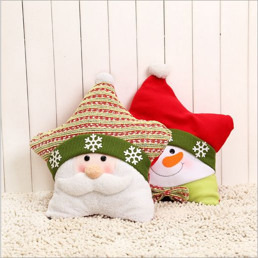 Father Christmas pillow 2 PCS