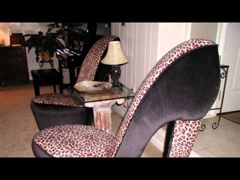 HOW TO : Build a High Heel Chair - YouTube