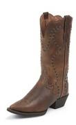 Justin Ladies Western Boots L2700 TAN VINTAGE BUFFALO Womens Cowboy | eBay