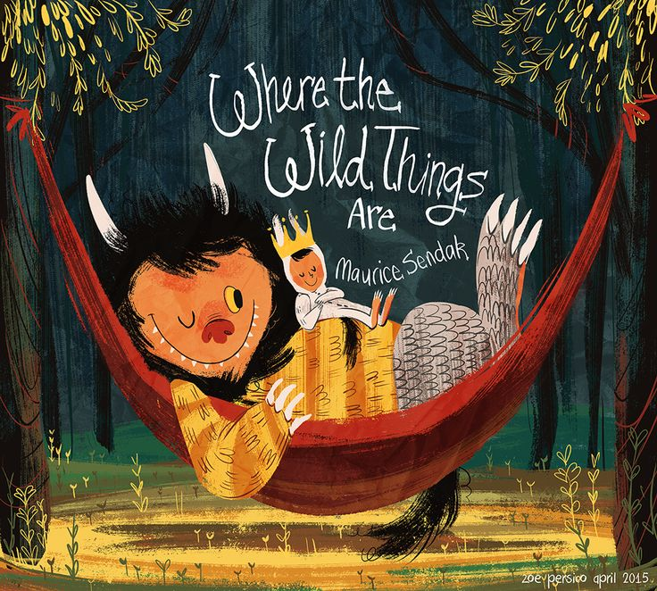 Where the wild things are by Zoe Persico