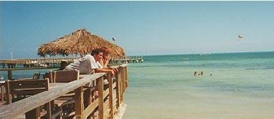Louie's Backyard in Key West. Best beach bar on earth.