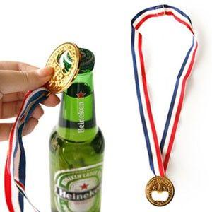 London 2012 Olympics Bottle Opener Golden Medal