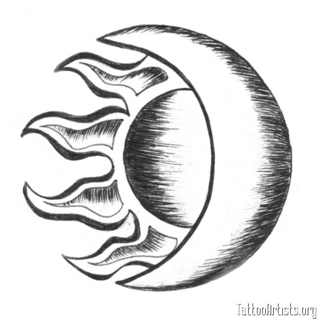 Best 25 half moon tattoo ideas on pinterest sun tattoo for Realistic sun tattoo