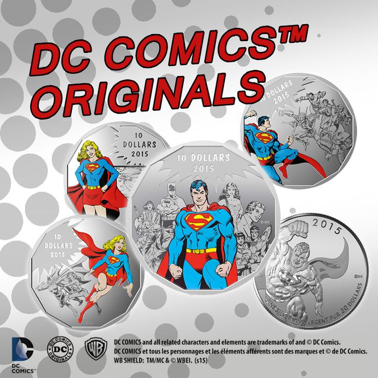 The new DC Comics Originals Silver Coins are in and they are SUPER! A great follow-up to the Super Man coin collection!