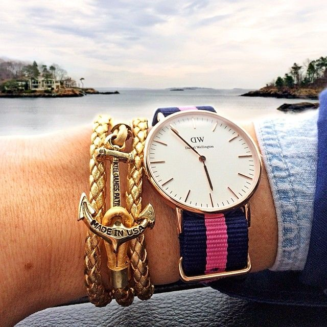 kieljamespatrick:  Officially on weekend time  @DanielWellingtonWatches  (at Marblehead, Ma)