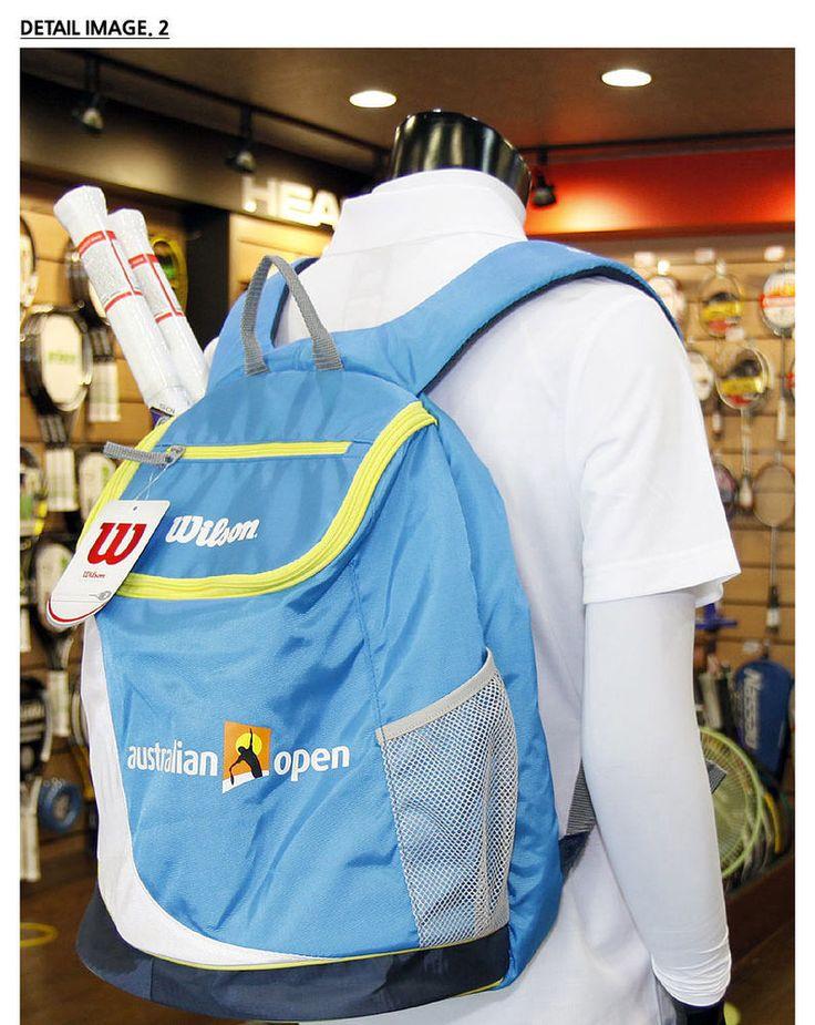 Wilson Tennis Backpack Australian Open Tennis Bag Sports Racket Court NEW 660396 #Wilson