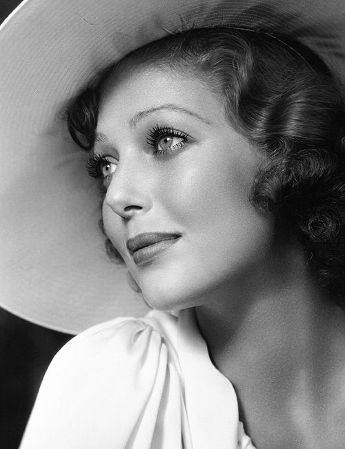 Loretta Young ~ When I was a young girl, I so impressed by her elegance and grace! She certainly is a remarkable role model,. If only we had one today!  JM -- Well, we do actually, Princess Kate!
