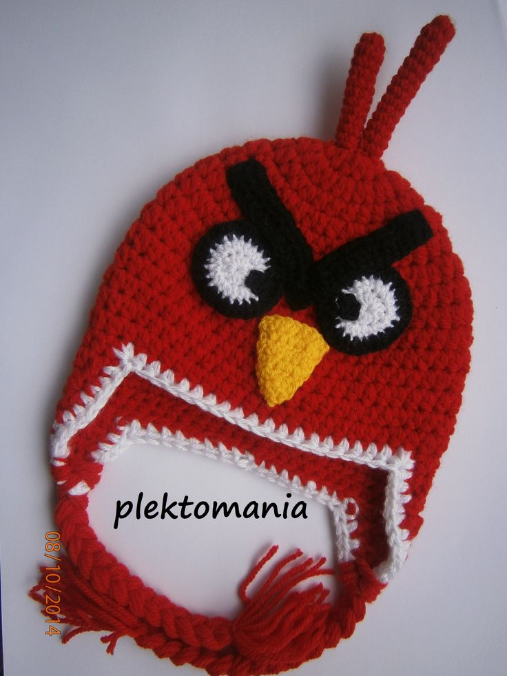 crochet angry birds https://www.facebook.com/plektomania25
