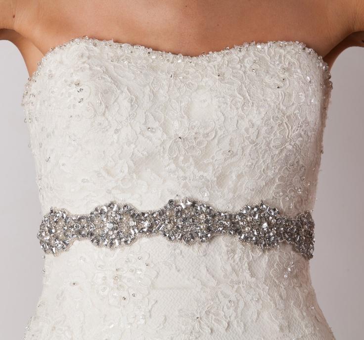 63 best wedding dress belt images on Pinterest | Bridal belts, Short ...