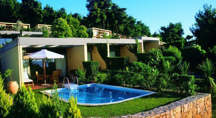 20% отстъпка за ранни записвания за лято 2014 в Гърция - Sani Beach Club & Spa, Касандра, Халкидики. Резервирайте изгодно Вашата почивка! Настаняване на база закуска и вечеря.