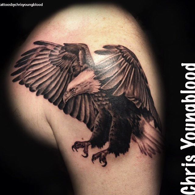 12 Best Eagle Tattoo Images And Designs Ideas: 14 Best Eagle Tattoo Men Images On Pinterest