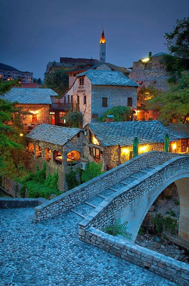 One of the most beautiful quaint places: Mostar, Bosnia and Herzegovina