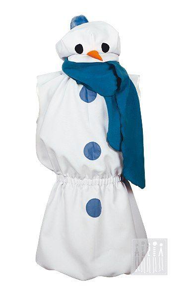 Снеговик (костюм) Комплектация: (берет, шарфик, туника)