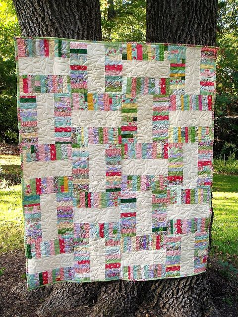The Academic Quilter: Flinging some strings