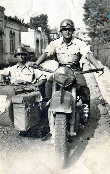 Army Motorcyclists