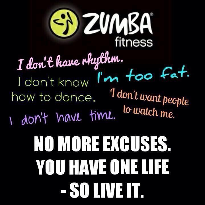 Zumba Workout Quotes