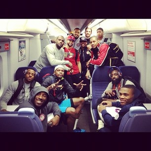 USA Dream Team take the Tube after the match.  Daily Olympic Update: 7 Aug 2012 (with images) · tweetsportcouk · Storify
