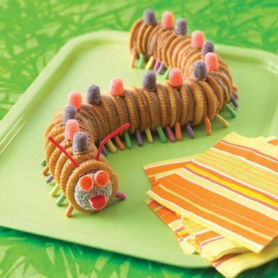 Creepy Crawler Caterpillar Recipe from Land O'Lakes
