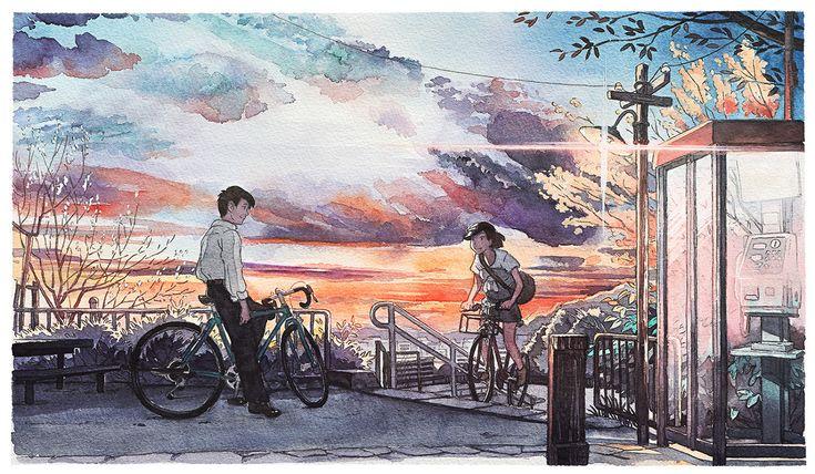 BicycleBoy illustration series on Behance