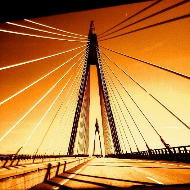 Another pic of Uddevalla bridge Sweden.