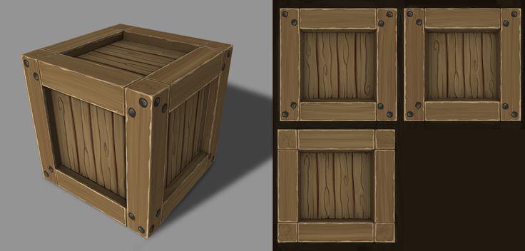 Crate, Nancy Nordmann on ArtStation at https://www.artstation.com/artwork/0eYYK