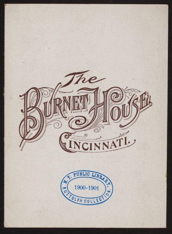 typhography   burnet house