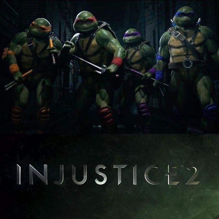 I Just Found A Reason To Buy Injustice 2 The Turtles The Fighter Pack Just Got Announced Cowabunga Injus Teenage Mutant Ninja Turtles Tmnt Ninja Turtles