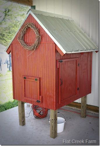 Chicken coop.....adorable