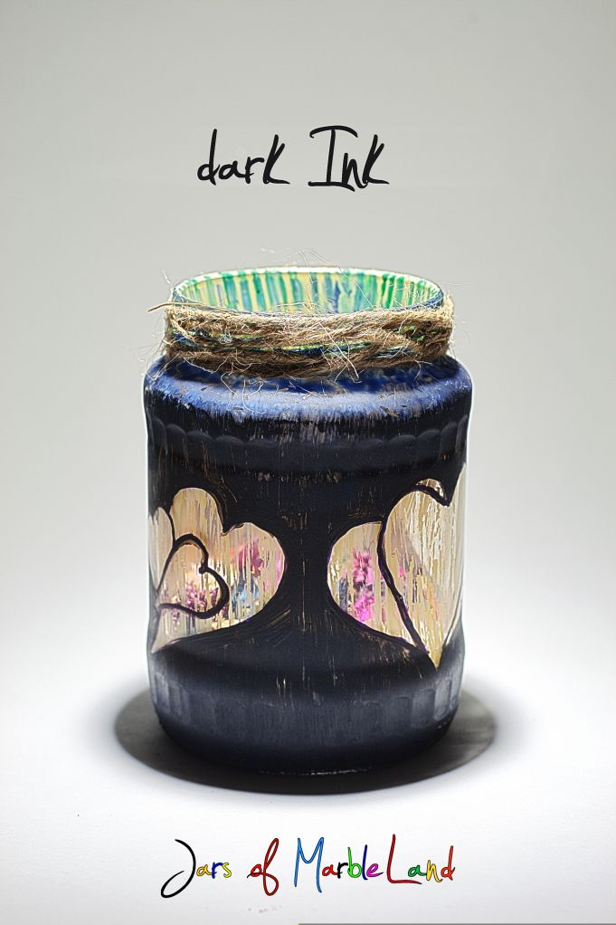Jars of Marbleland hand painted jar ideas
