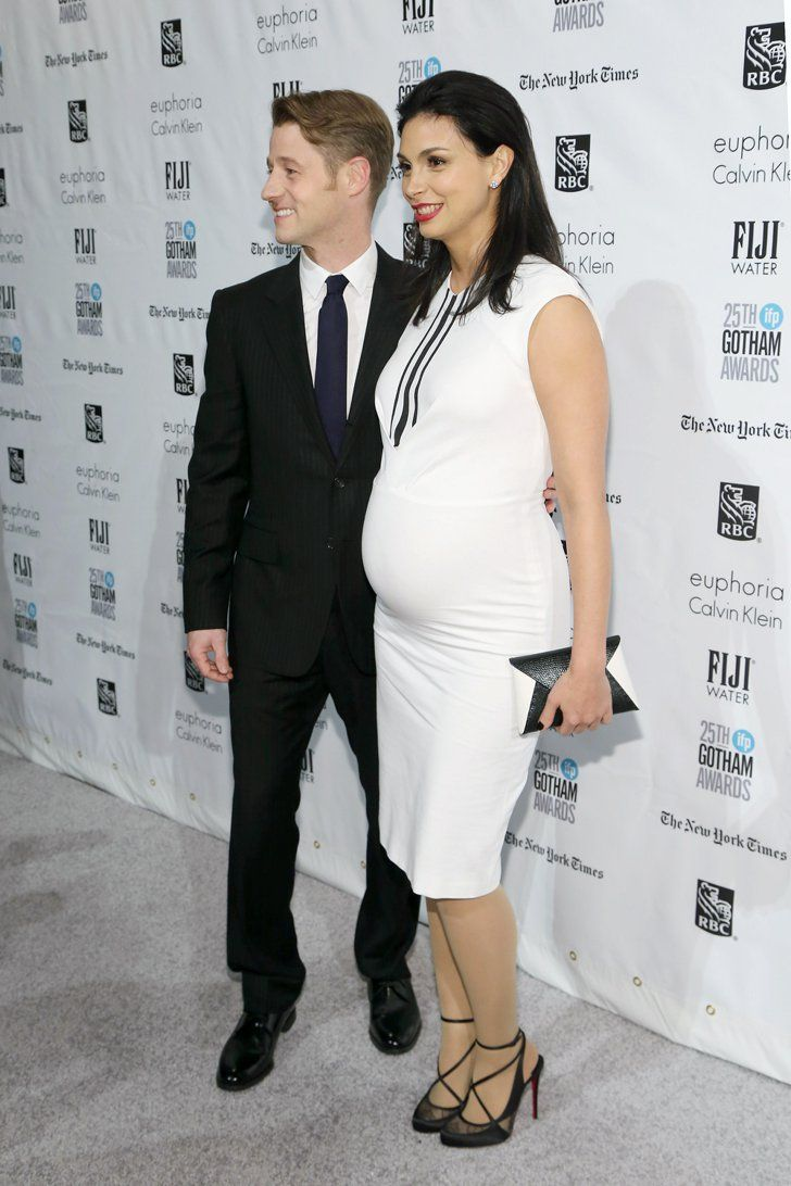 Pin for Later: Pregnant Morena Baccarin Is Beautiful and Glowing During Her Night Out With Ben McKenzie