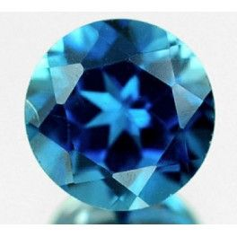 Natural London blue Topaz loose gemstone for sale on BuyGems.org