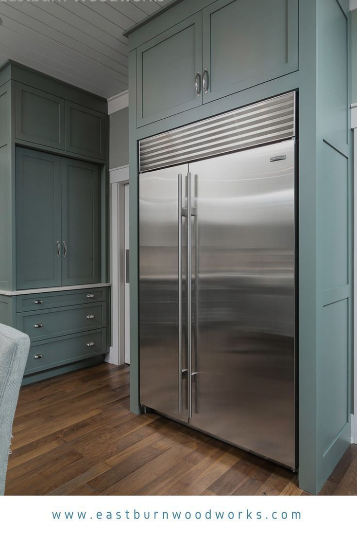 Eastburncabinet Blue Kitchen Cabinets Framing A Stainless Steel French D Blue Kitchen Cabinets Kitchen Cabinet Design Stainless Steel French Door Refrigerator