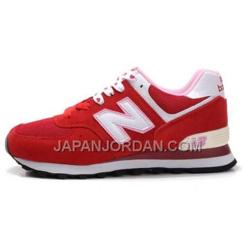 http://www.japanjordan.com/new-balance-574-womens-red-white-shoes.html 送料無料 NEW BALANCE 574 WOMENS 赤 白 SHOES Only ¥7,598 , Free Shipping!