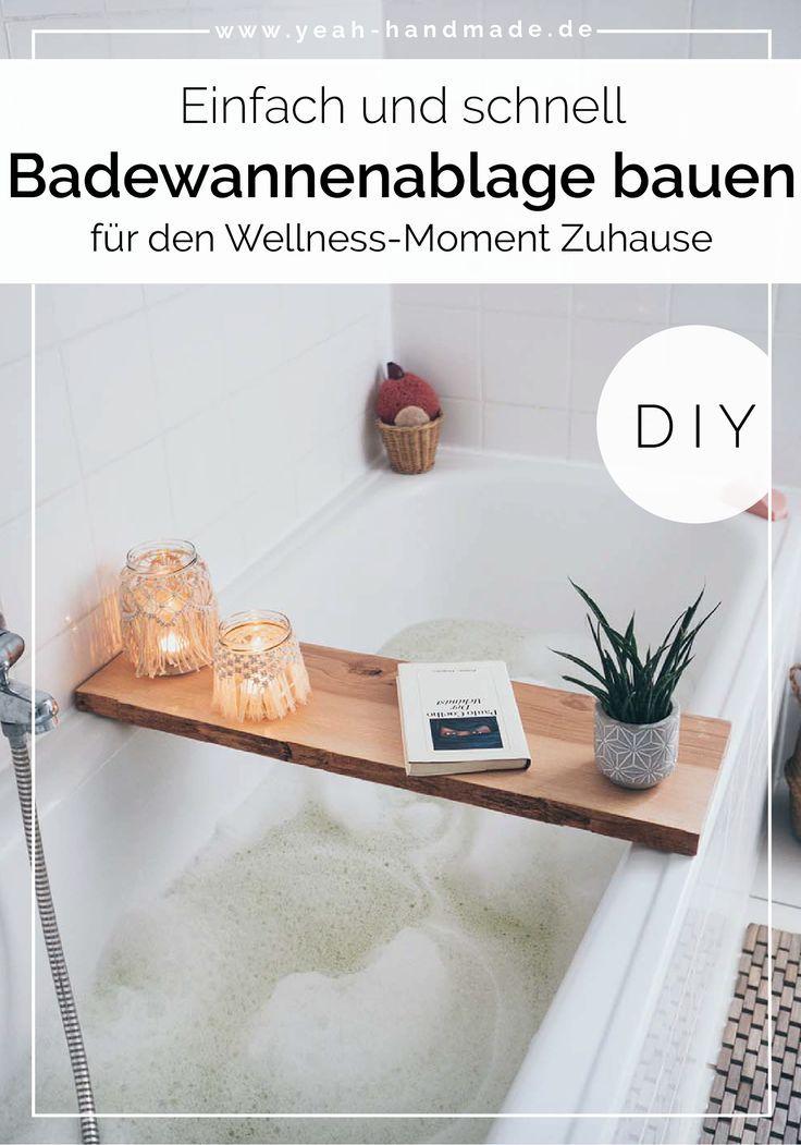 Diy Badewannenablage Selber Machen Badezimmer Makeover Teil 3