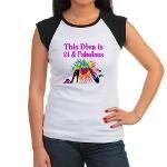 21ST PRIMA DONNA Junior's Cap Sleeve T-Shirt http://www.cafepress.com/jlporiginals/12452149  #21stbirthday  #21yearsold  #Happy21stbirthday #21stbirthdaygift  #turning21  #21stbirthdayideas #21stbirthdayparty