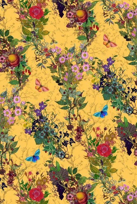 Bloomsbury Garden fabric by Timorous Beasties