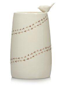 George Home Bird Vase | Home Accessories | ASDA direct