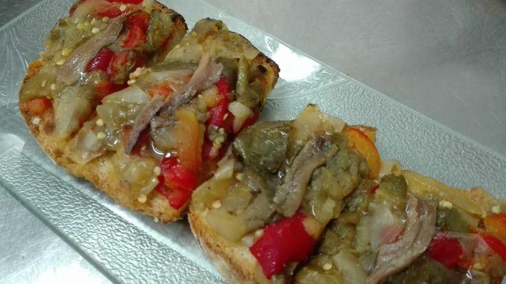 Que os parece este aperitivo, para empezar???? #restauranteantonio #zaragoza #menus #pilar #aperitivo