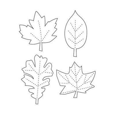 Best  Fall Leaf Template Ideas On   Leaf Template