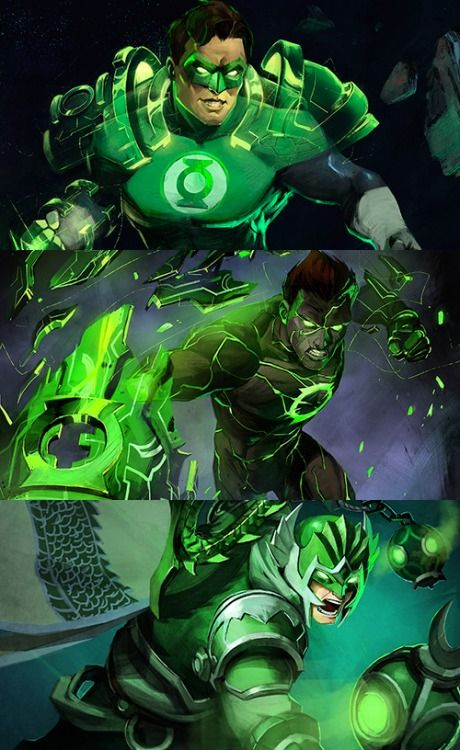 Hal Jordan + Infinite Crisis artwork