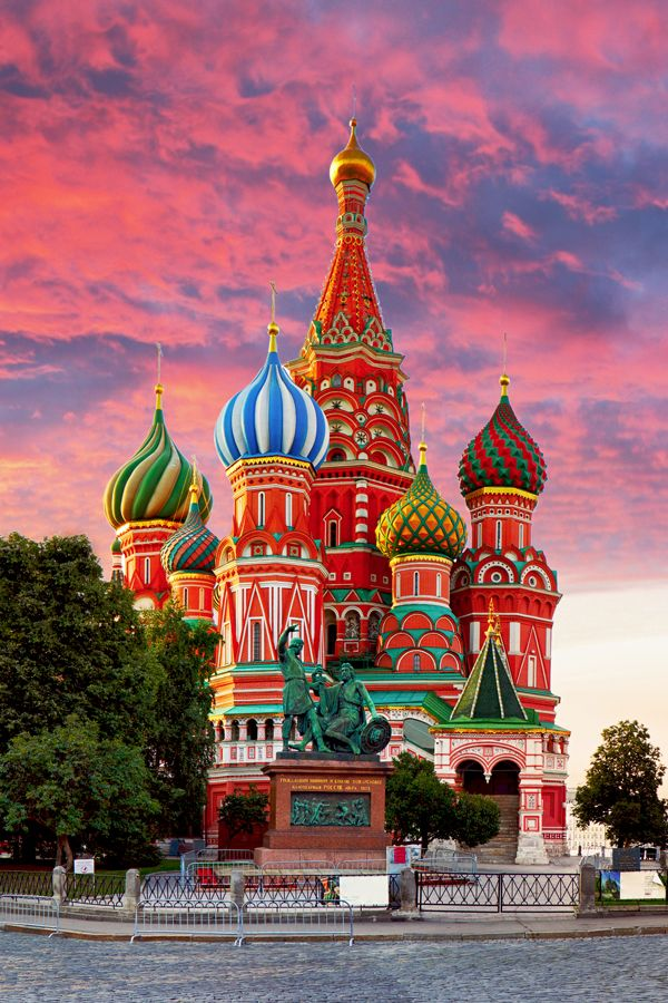 St Basil S Cathedral Moscow Vikingcruises Beautiful Places To Travel St Basils Cathedral Wonders Of The World