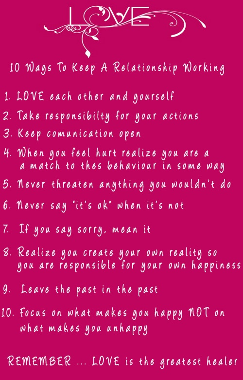 10 Ways to keep a #relationship working #love www.finditforwedd...  and www.facebook.com/...