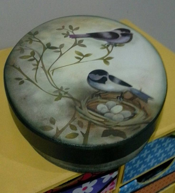 Eliane Artesanato: caixa oval
