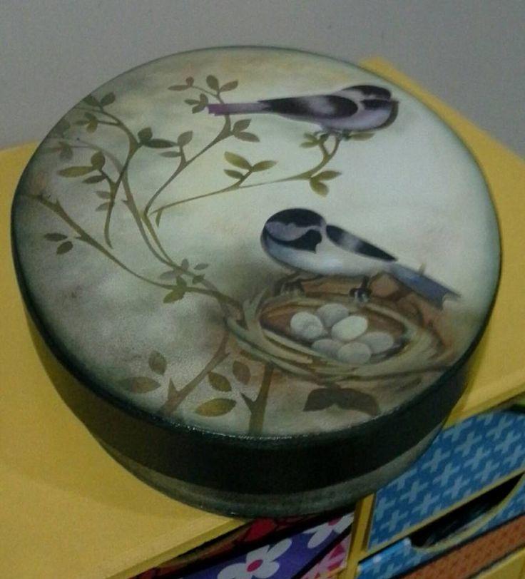 Eliane Artesanato: caixa oval                                                                                                                                                     Mais