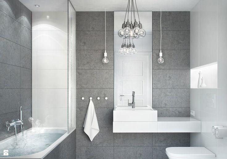 concrete bath - zdjęcie od be3design - Łazienka - Styl Minimalistyczny - be3design