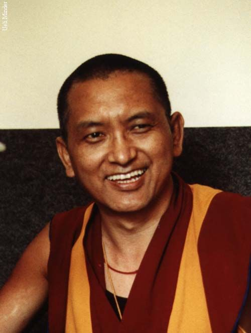 Venerable Lama Zopa Rinpoche is the spiritual director of FPMT and the founder of Choe Khor Sum Ling. _/\_