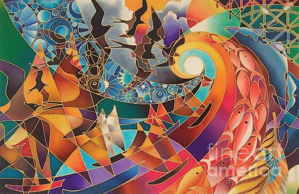 Maria Rova Silk Art