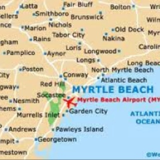 1000 Ideas About Map Of Myrtle Beach On Pinterest Grand
