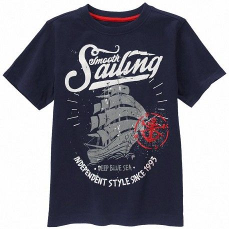 Camiseta Gymboree Smooth Sailing azul